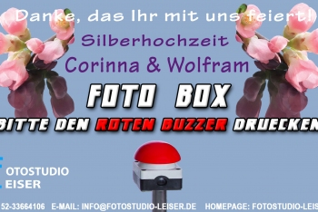 Fotobox-Template-Silber