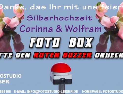 Fotobox-Template-Silber